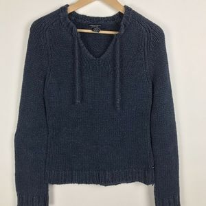 American Eagle  Navy Blue Pullover Sweater Sz Lg